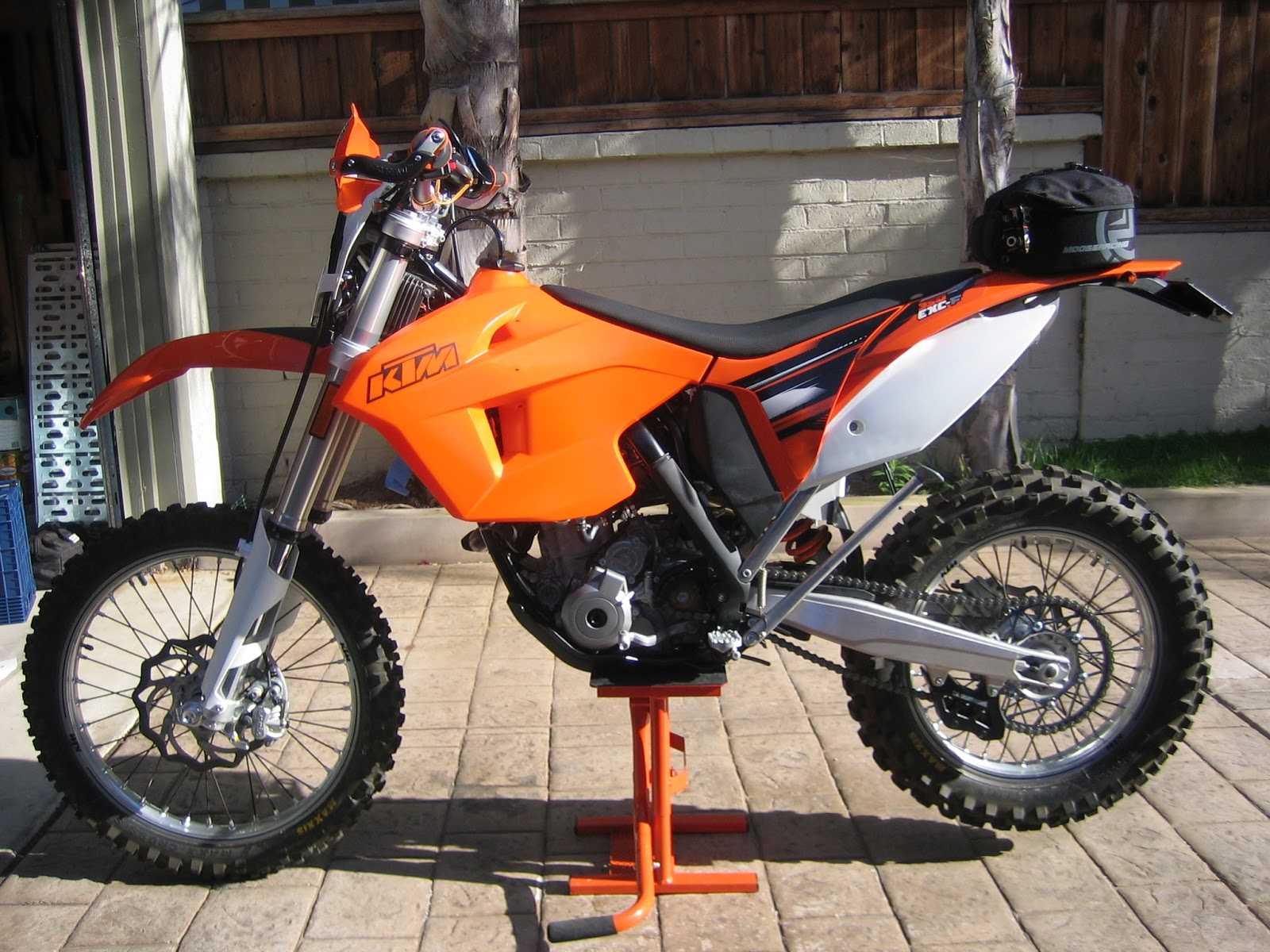 Ktm  Exc Seat Height