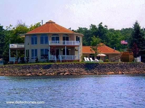 Arquitectura de casas casas modernas redondas en los for Casas modernas redondas