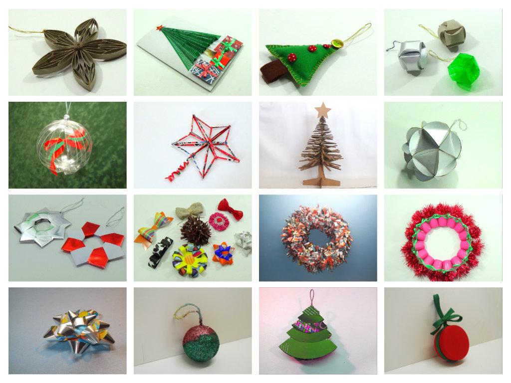Vida f cil ideas para navidad - Manualidades para decorar en navidad ...