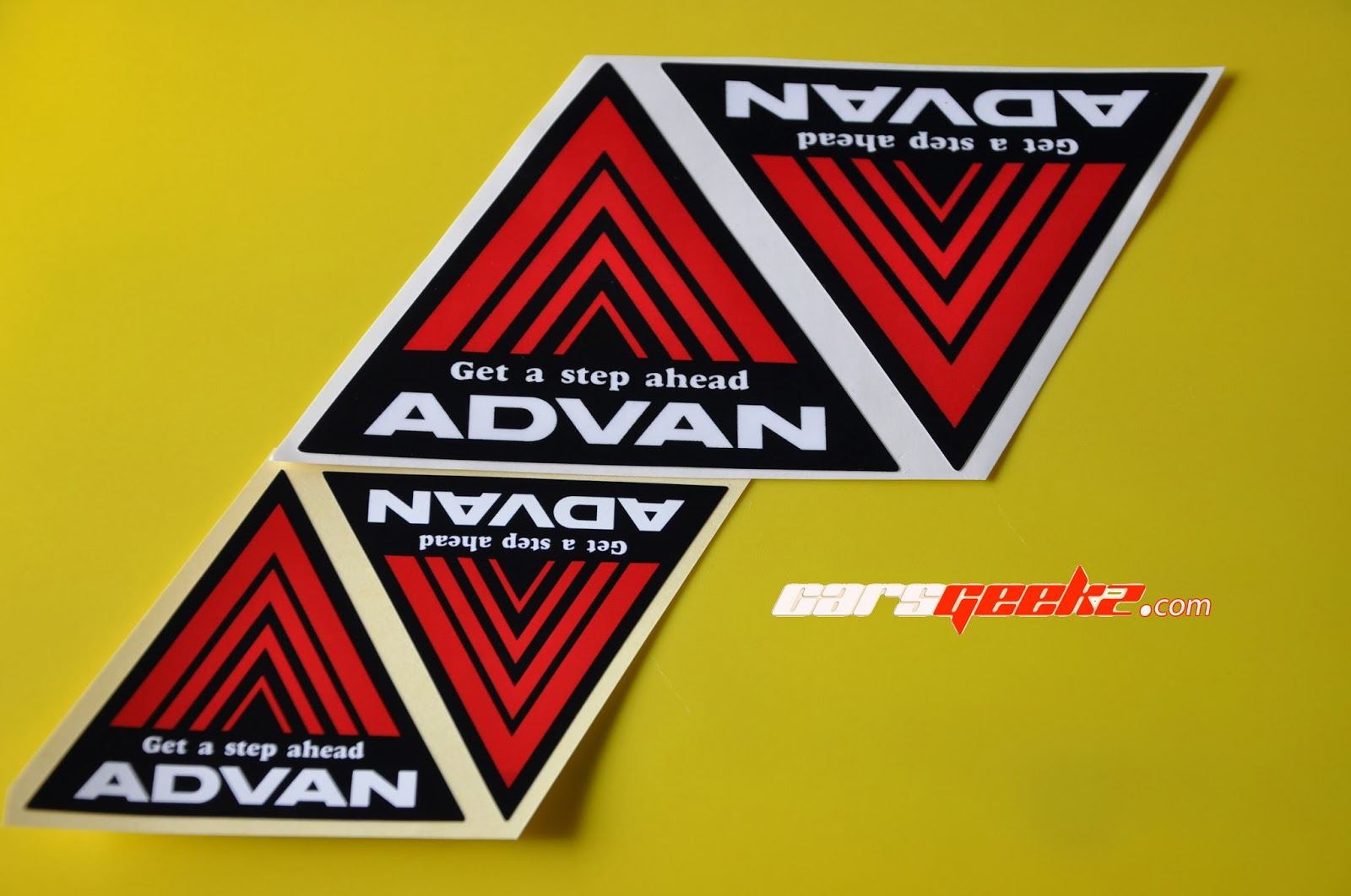 Advan - Get a step ahead sticker