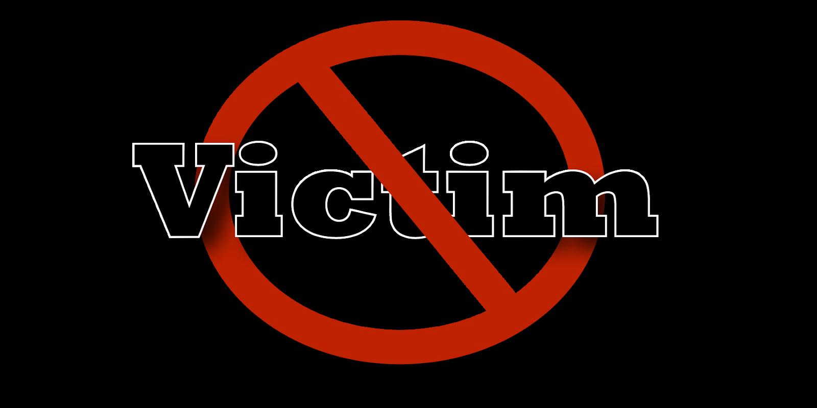 Kết quả hình ảnh cho Stop Being the Victim