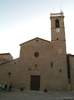 Façana principal de l'església de la Mare de Déu dels Àngels