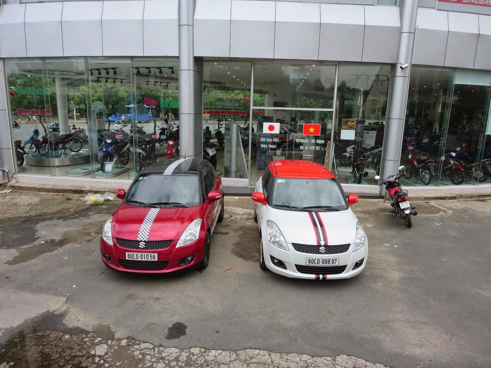 Suzuki Swift lắp ráp tại Việt Nam 2
