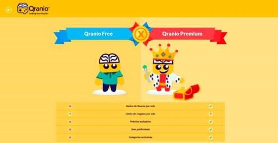 Qranio é um app de aprendizado para jogar
