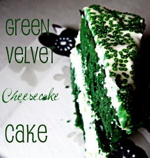 Cupcake Apothecary: Green Velvet Cheesecake Cake