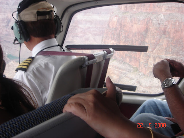 Helicopter Pilot at Grand Canyon, USA