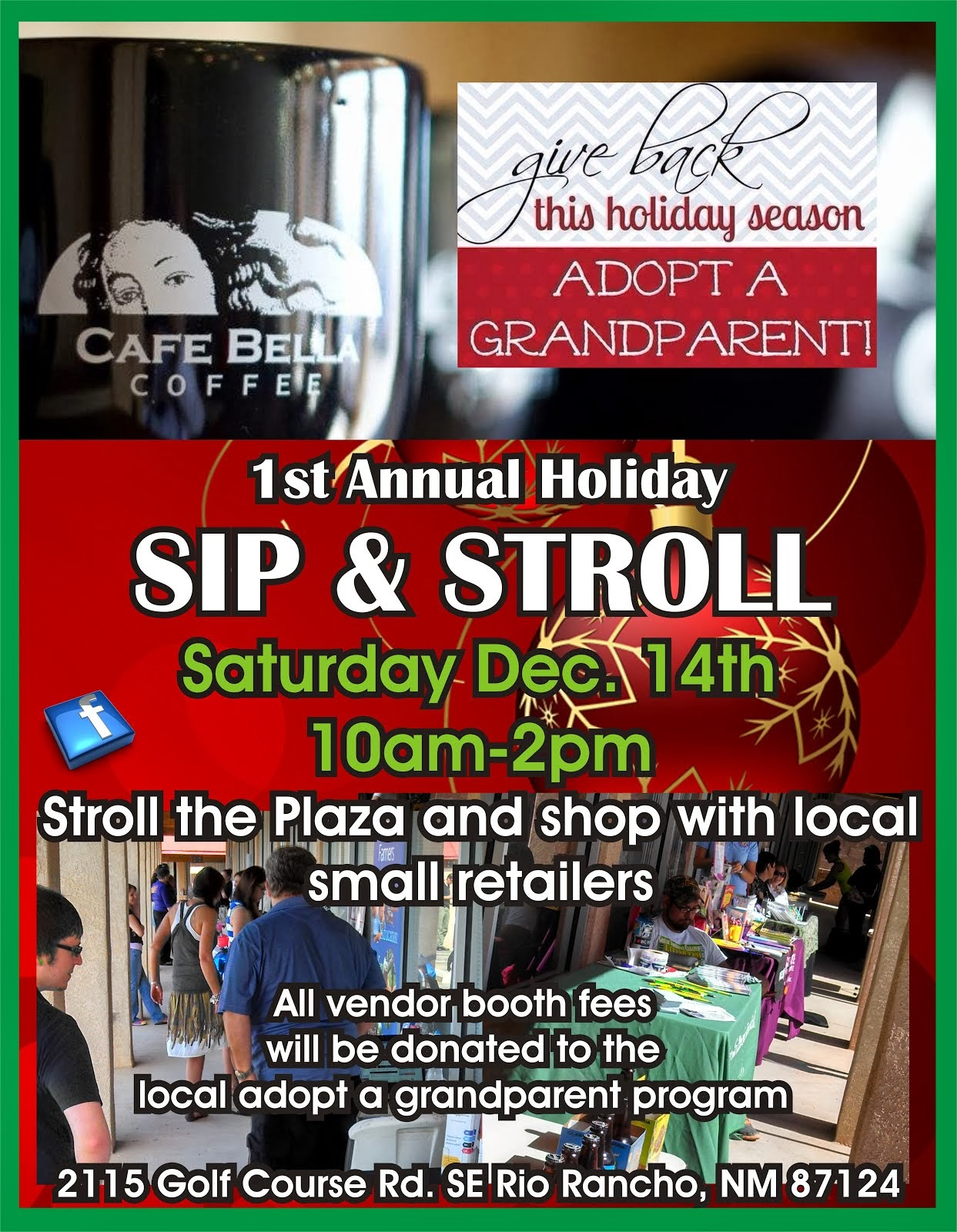 Sip & Stroll Sat. Dec 14th!