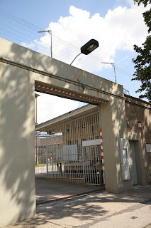 Stasi Prison, East Berlin, fornt gate