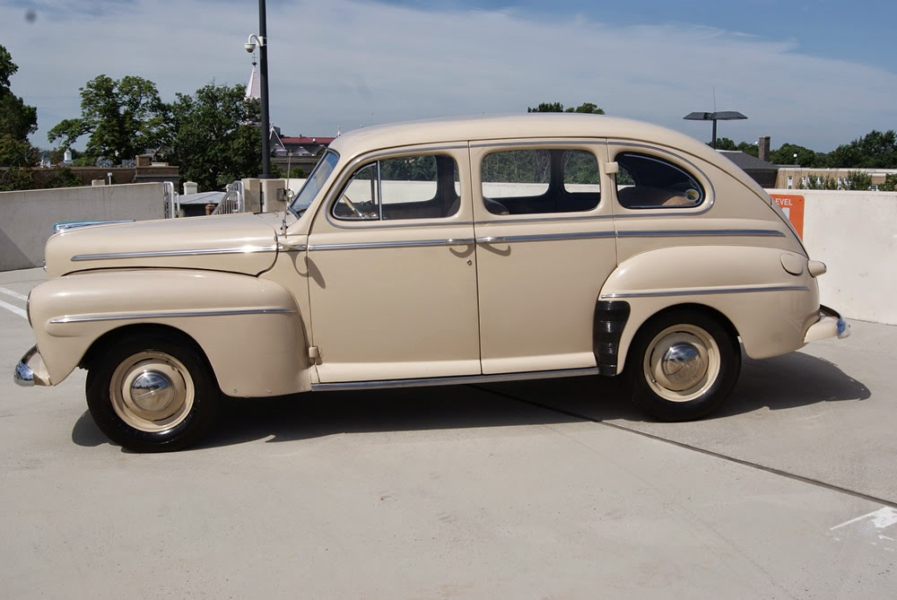 all american classic cars 1947 ford super deluxe fordor 4