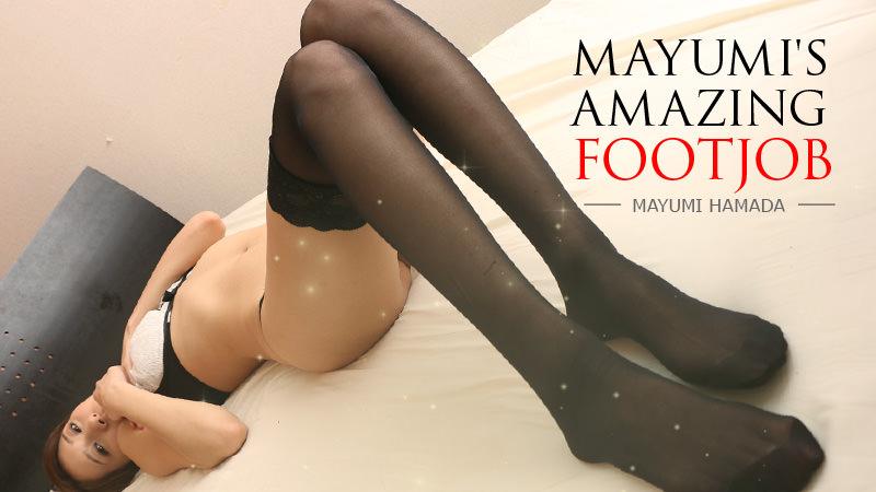 Mayumi Hamada Amazing Footjob