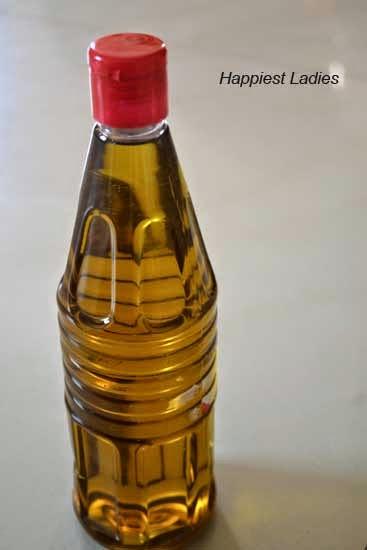 Homemade Herbal Hair Oil
