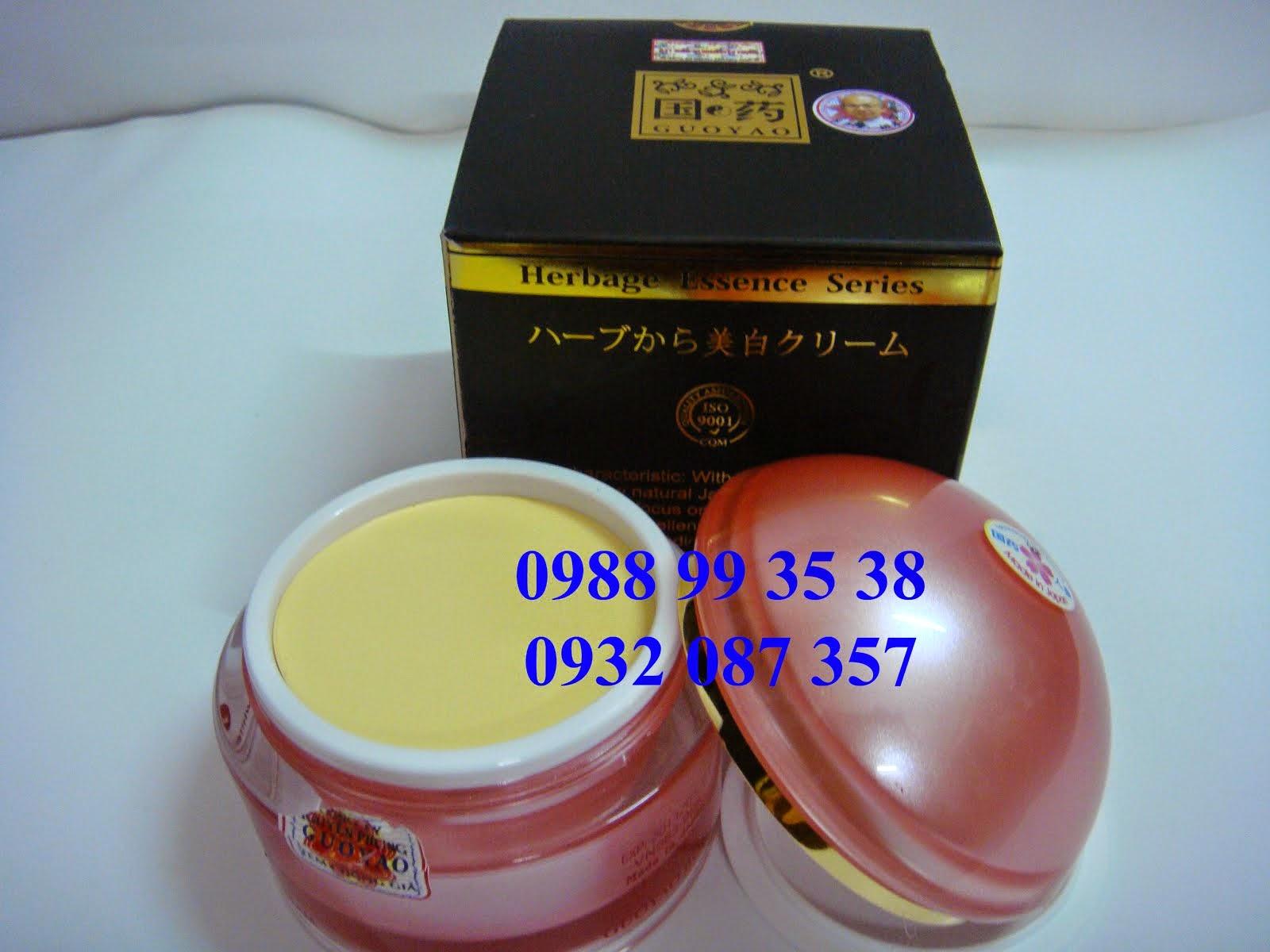 Kem trắng da toàn thân Guoyao cao cấp Nhật Bản