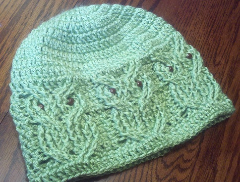 Free Crochet Cable Owl Hat Pattern : Just For Fun: Christmas Carnival of Crochet, Pt II
