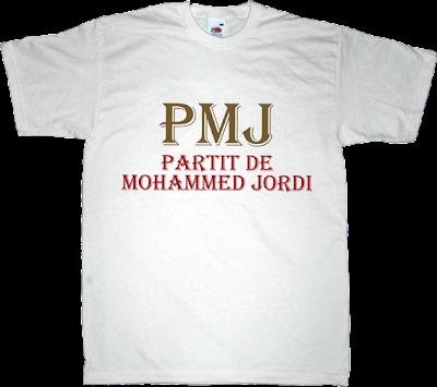 rac1 la competència Mohammed Jordi els catarres t-shirt ephemeral-t-shirts