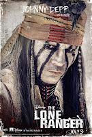 Johnny Depp The Lone Ranger Poster