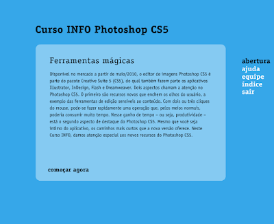 CURSO INFO PHOTOSHOP CS5