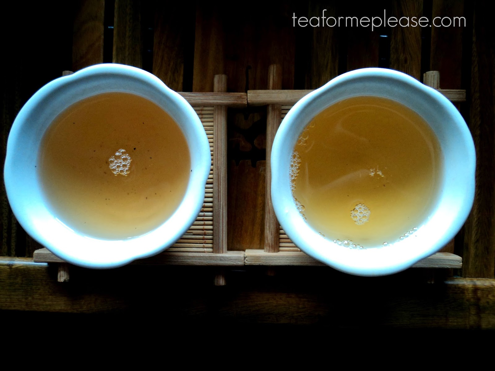 White2Tea 2013 Jingmai - Old Arbor vs Plantation