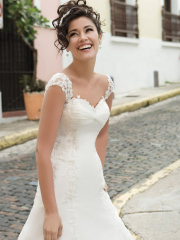 Petite Wedding Dresses With Sleeves Lace Sleeve The Hairs