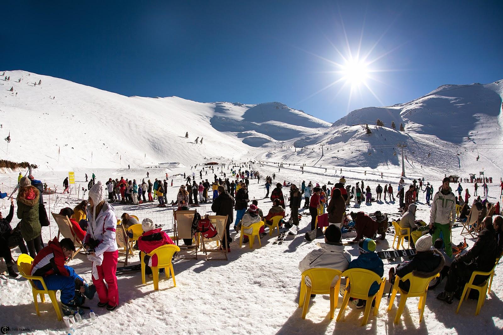 Αλλαγή στο ωράριο λειτουργίας του χιονοδρομικού κέντρου Καλαβρύτων