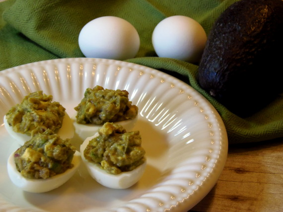 Deviled Guacamole Eggs Recipe