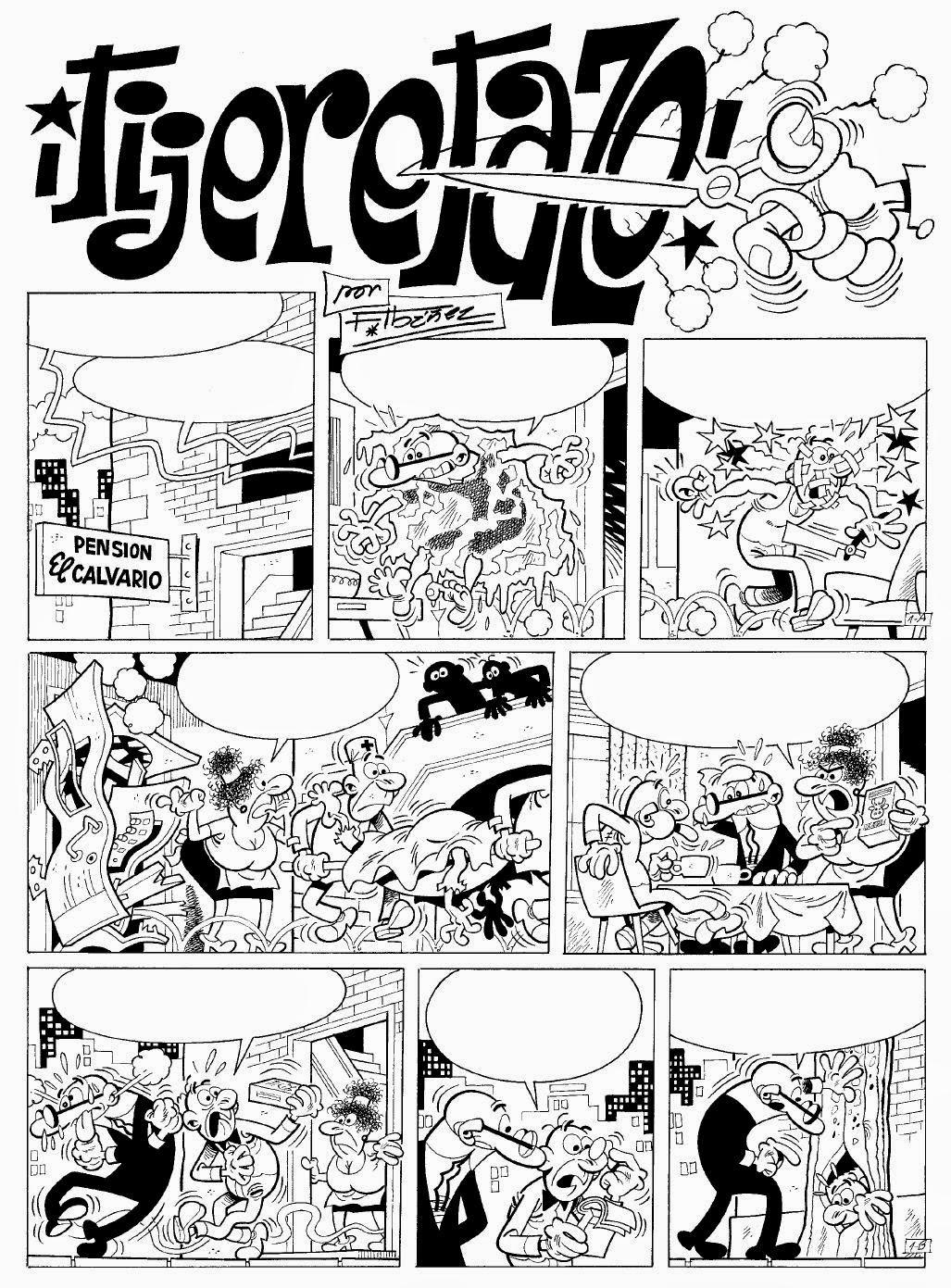 Factoría del Cómic: El ¡Tijeretazo! de Mortadelo y Filemón