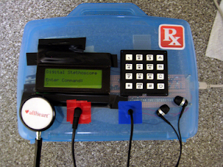 estetoscópio digital AVR