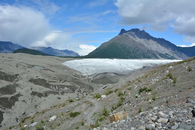 Kennicott Glacier panorama