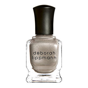 beauty trends, Trend-Filled Thursdays, gold beauty products, makeup, Deborah Lippmann Believe nail polish