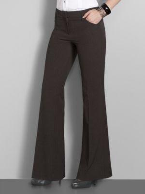 Cool Harve Benard Sz 16 Womens Brown Dress Pants Slacks 7K10  EBay