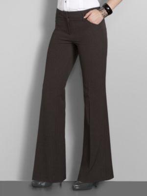 Cool Harve Benard Sz 16 Womens Brown Dress Pants Slacks 7K10  EBay