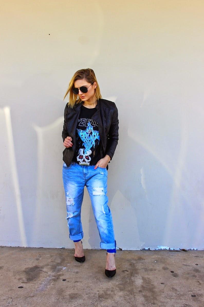 Yeezus Tour Australia September 2014 Kim Kardashian KArdashian Kollection Fashion Blogger