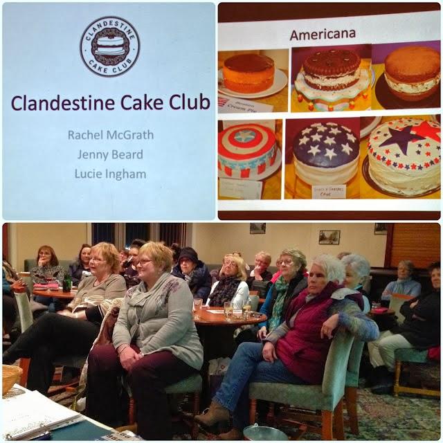 Cake Club at Horwich WI