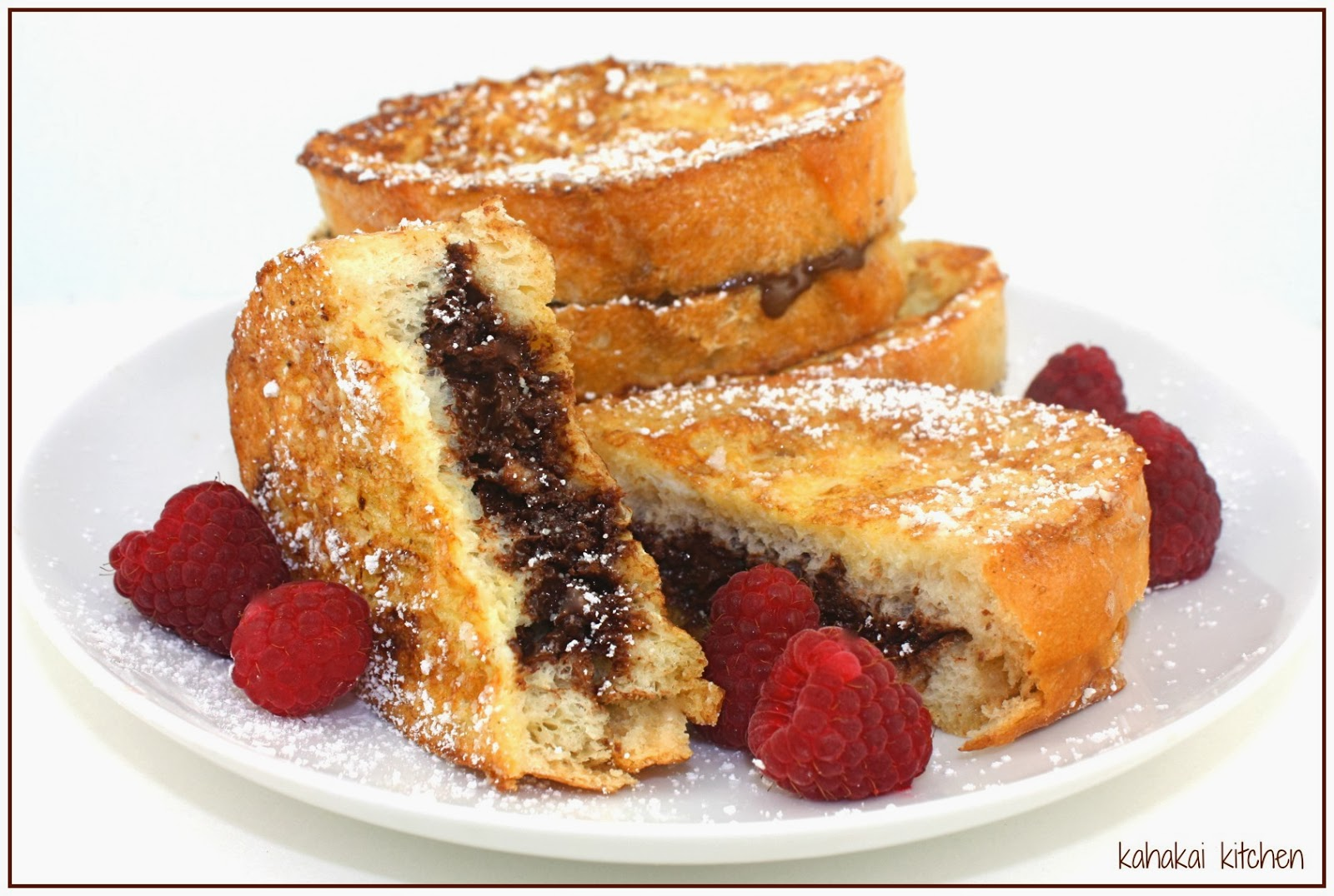 "Kahakai Kitchen: Chocolate French Toast ""Sandwiches"" from Donna Hay"