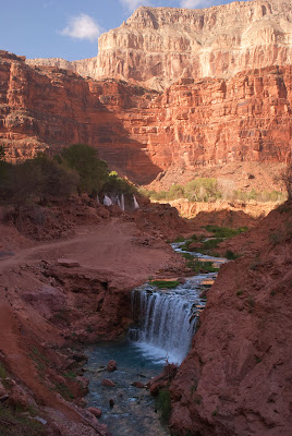 Havasupai hiking trail