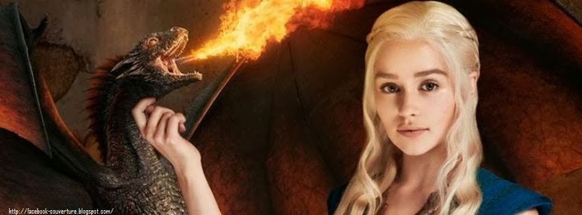 Couverture facebook game of thrones