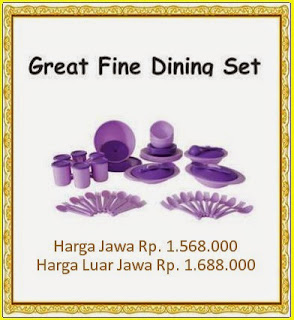 great fine dining set tulipware