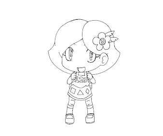 #20 Animal Crossing Coloring Page