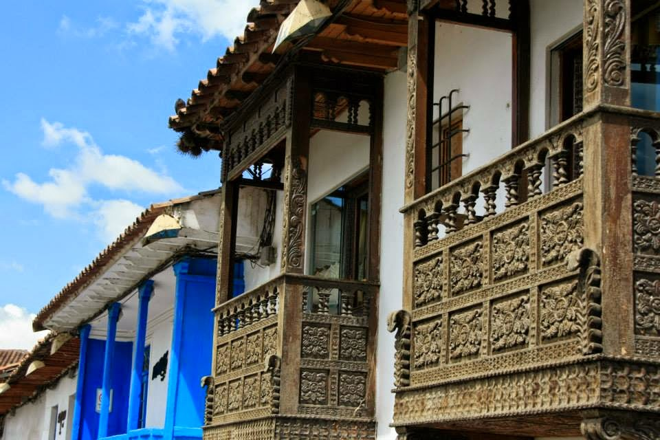 Balcones de Cusco.