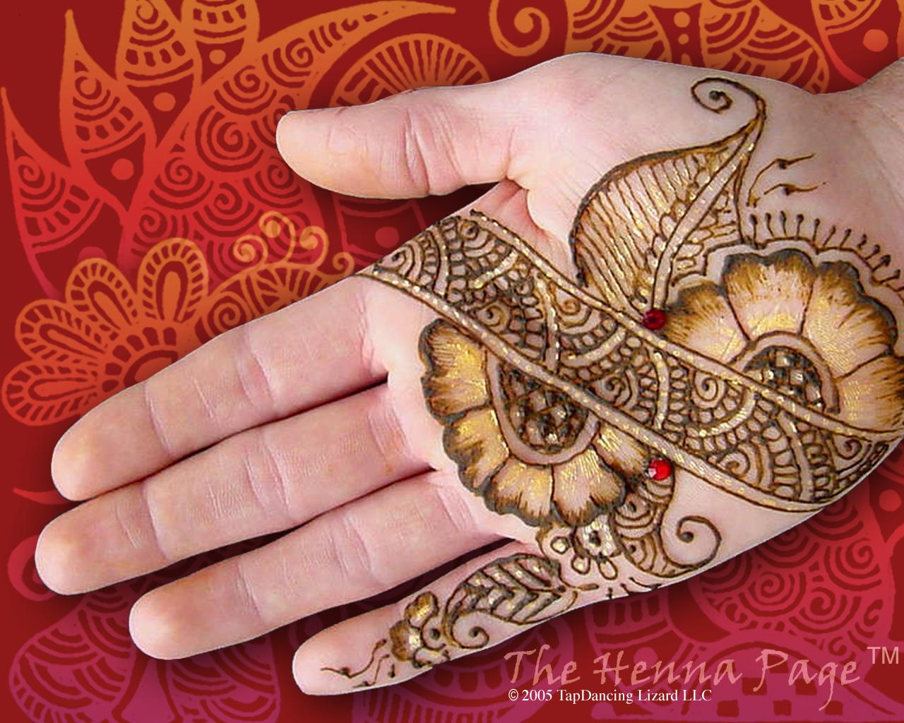 Mehndi Flower Design : Mehndi desins henna