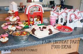 Barnyard Party Food Recipes