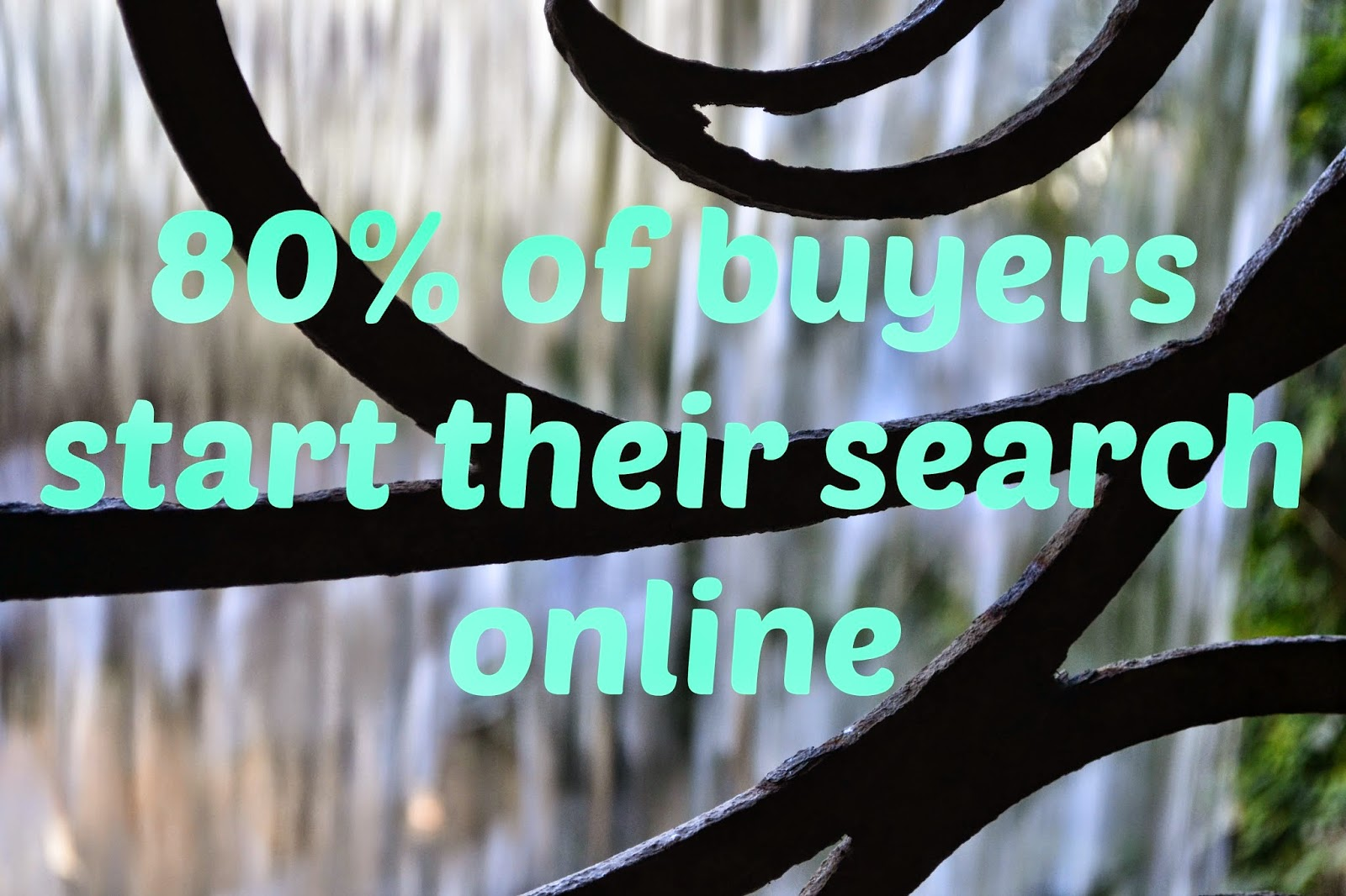 80% of buyers start their search online