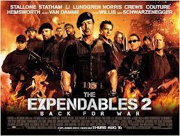Hình Ảnh Diễn Viên Phim Biệt Đội Đánh Thuê 2 -The Expendables 2