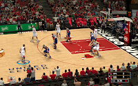 NBA 2K13 Chicago Bulls Court Patch