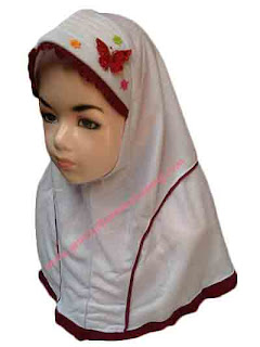 jilbab anak terbaru