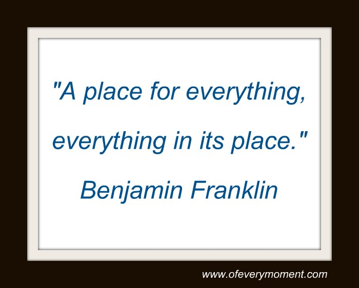 quote, Ben Franklin