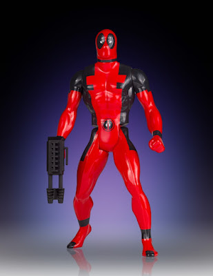 "San Diego Comic-Con 2015 Exclusive Marvel's Secret Wars Deadpool 12"" Jumbo Vintage Action Figure by Gentle Giant"
