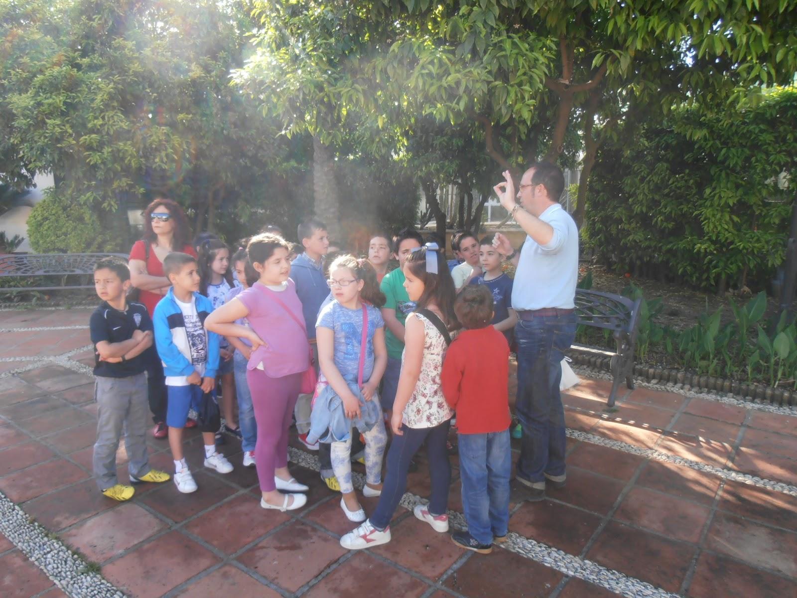 Ceip andaluc a c rdoba primer ciclo 12 13 en el jard n for Ceip jardin botanico