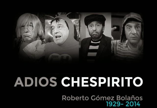 Muere una gran figura Chespirito, El Chapulin Colorado, El Chavo del 8