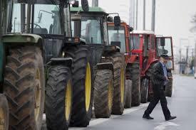 Οι αγρότες της Χαλκιδικής βγάζουν τα τρακτέρ στους δρόμους