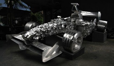 Creative and Cool F1 Car Recreations (10) 1